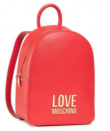 Love Moschino zaino logo rosso Tersicore Crotone