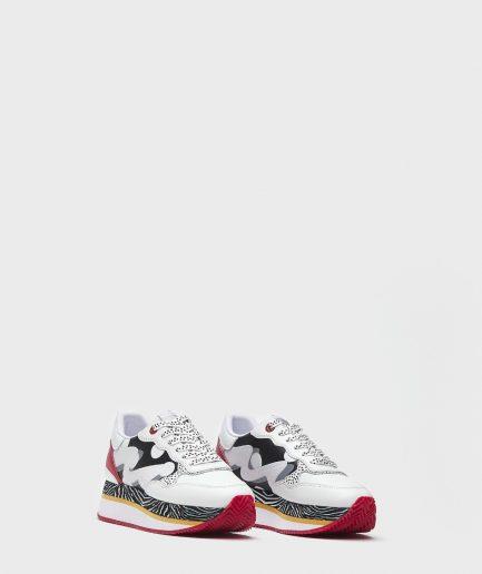Manila Grace Sneaker suola eva stampata con stabilizer e tomaia logata