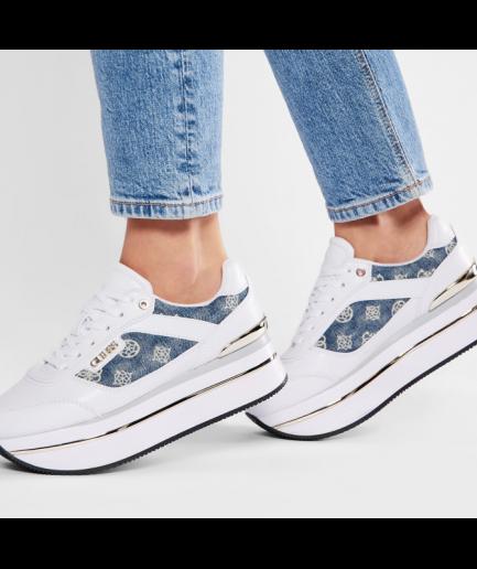 Guess Sneakers Running Platform Loghi