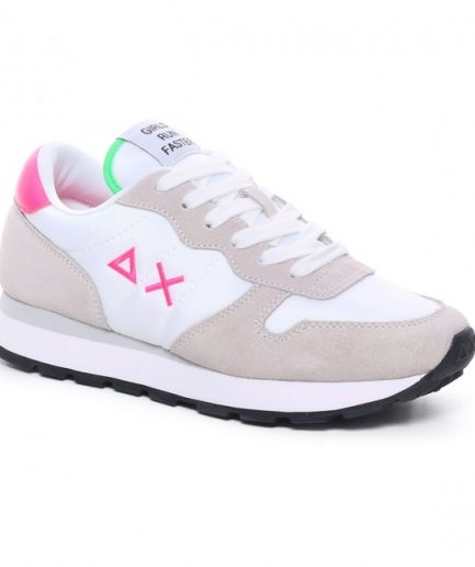 Sun68 Sneakers Donna Ally Solid Nylon Bianco Z31201