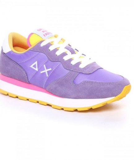 Sun68 Sneakers Donna Ally Solid Nylon Lilla Z31201