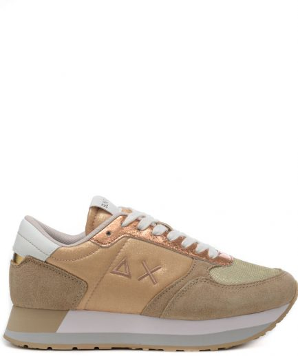 Sun68 Sneakers Donna Kate Shine Beige Z31223