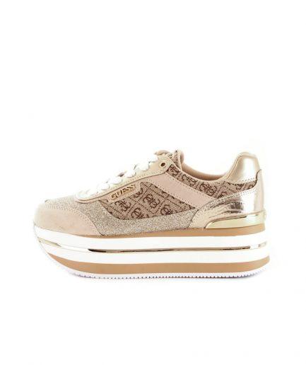 Guess Sneakers Hansin Runner Maxi Para con stampa logo 4G a contrasto