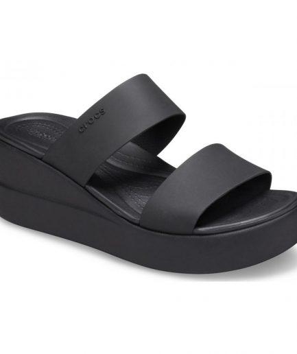 Crocs Brooklyn Mid Wedge W Black/black