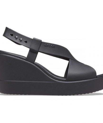 Crocs Brooklyn High Wedge W Black/black