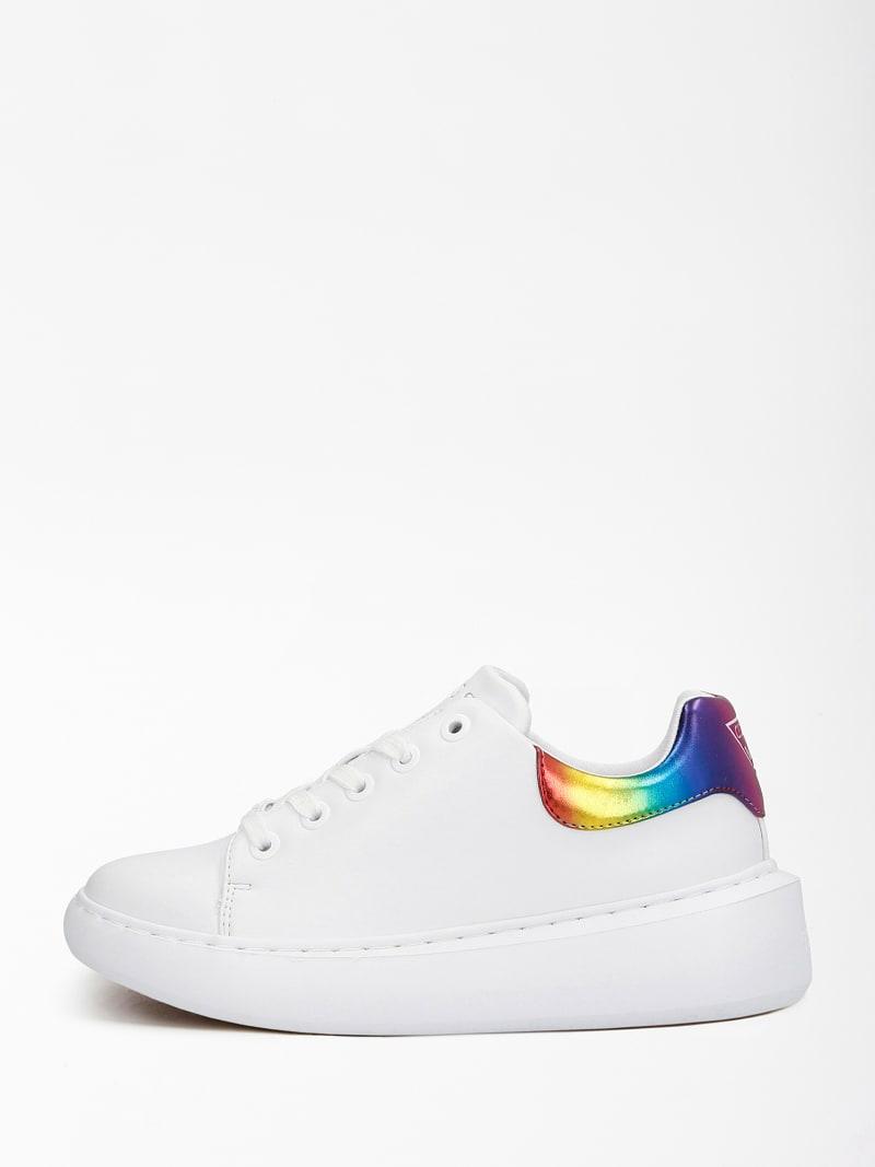 Guess Sneaker donna bradly bianco multi Tersicore Crotone