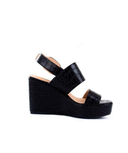 Guess sandalo Nolita stampa cocco nero Tersicore Crotone