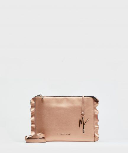 Manila Grace borsa Daisy pochette bronzo Tersicore Crotone