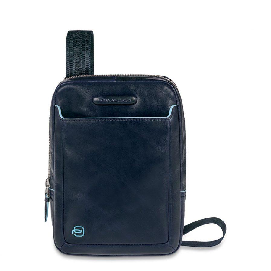 Piquadro Borsello organizzato porta iPad® Mini Blue Square Blu Notte