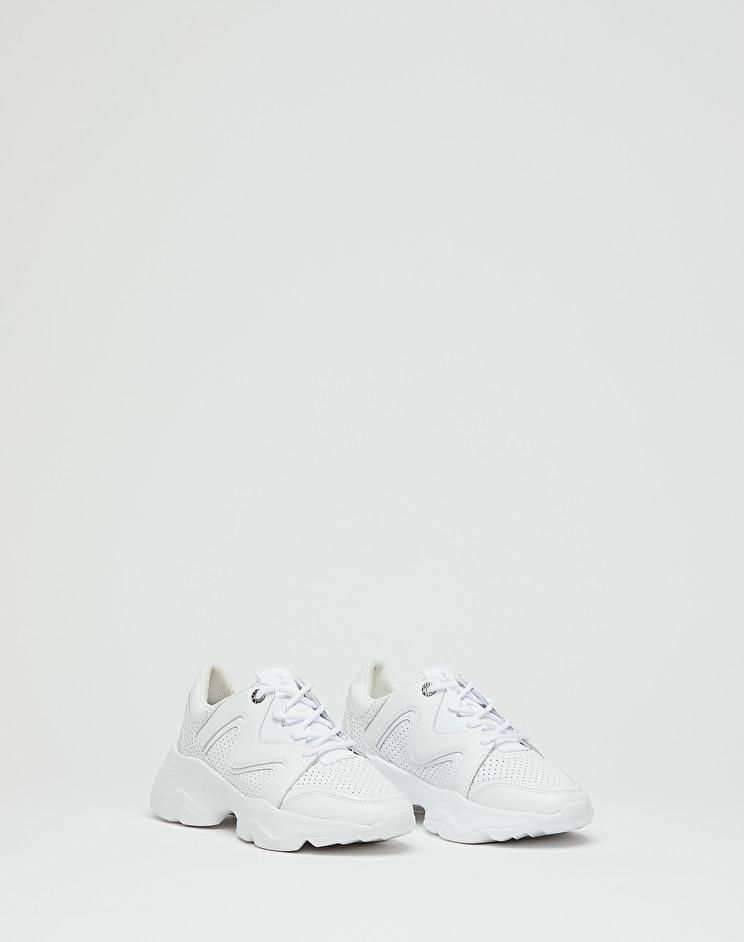 Manila Grace Sneaker Running Chuncky con mix di materiali
