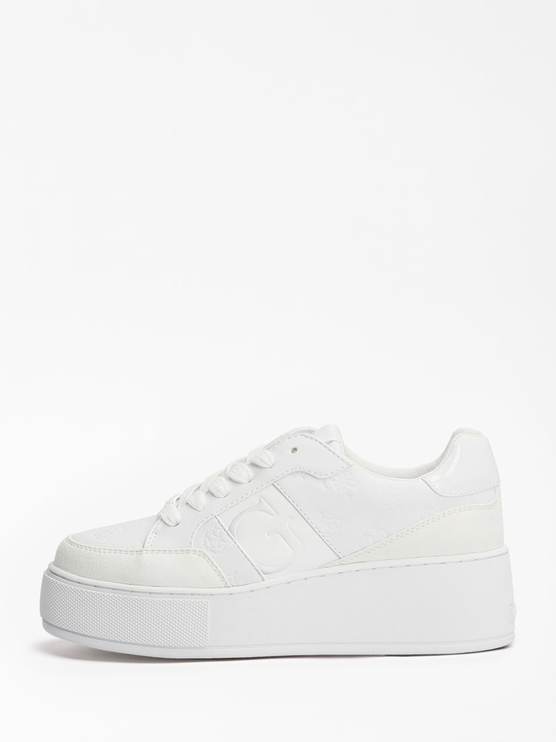 Guess Sneakers Donna Neiman 4G Logo Bianca